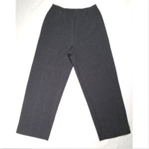 Pants - Women Dress Pants Elastic Waistband Zip Fly 0931E2